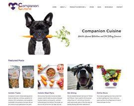 Companion Cuisine website