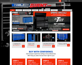 Toolbox Giant website