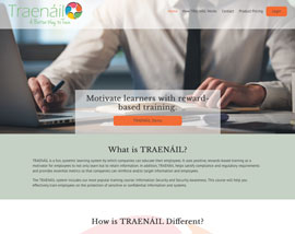 Traenail website