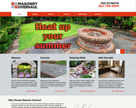 Masonry Overhaul website
