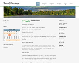 Town of Mukwonago website