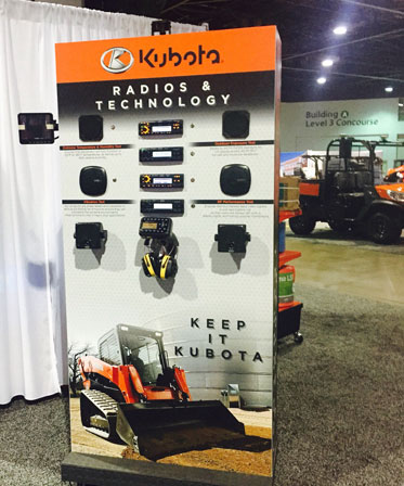 Kubota Radio Display