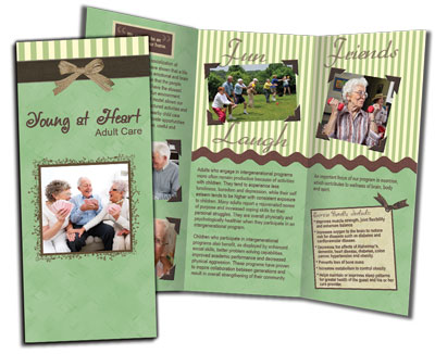Young at Heart Trifold Brochure